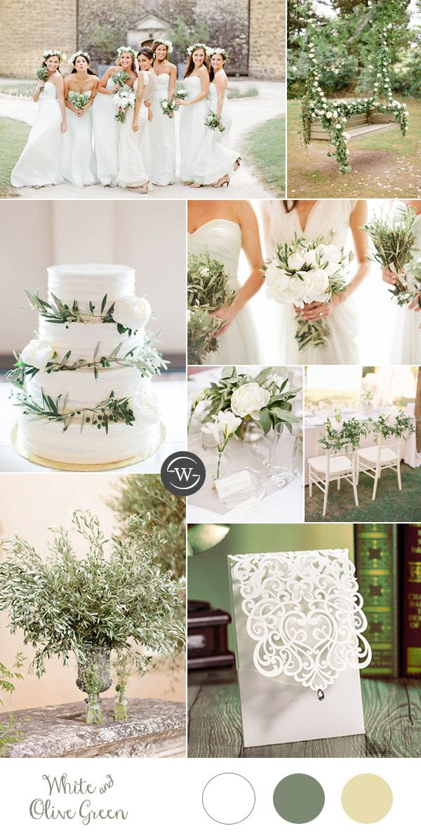 2017 Trends Organic Inspired Olive Branch Wedding Ideas Happily