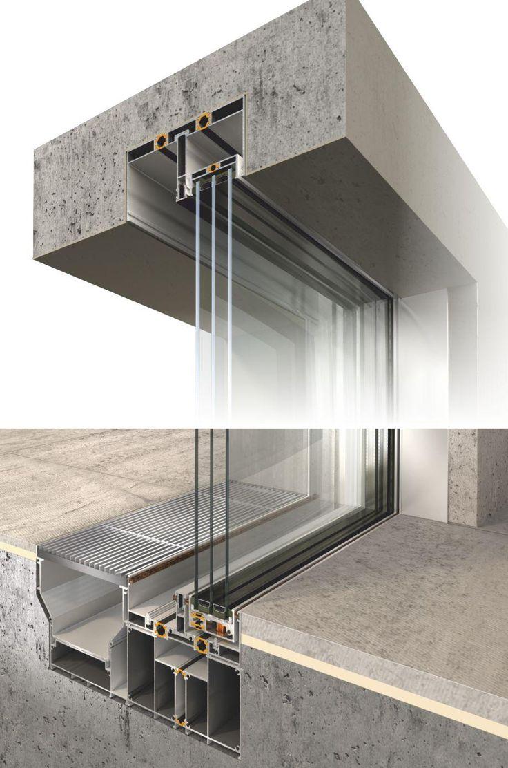 M s de 25 ideas incre bles sobre carpinterias de aluminio - Detalle carpinteria aluminio ...