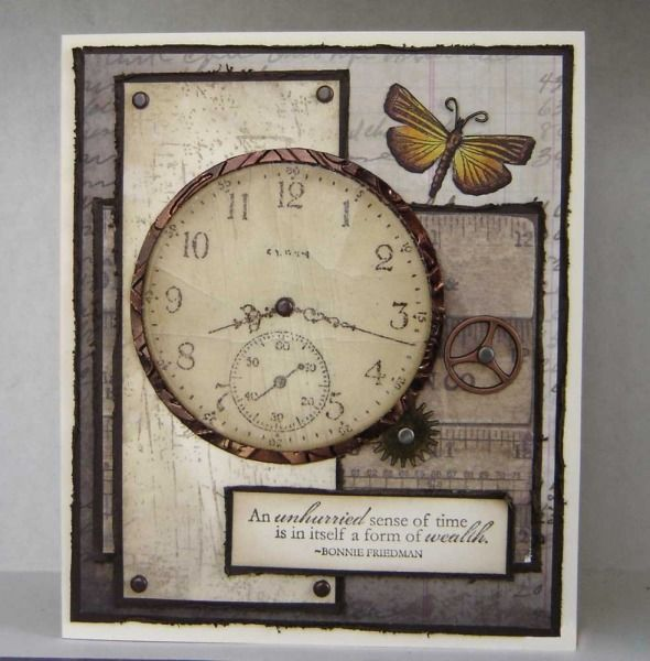 Unhurried Sense of Time by stiz2003 - Cards and Paper Crafts at Splitcoaststampers