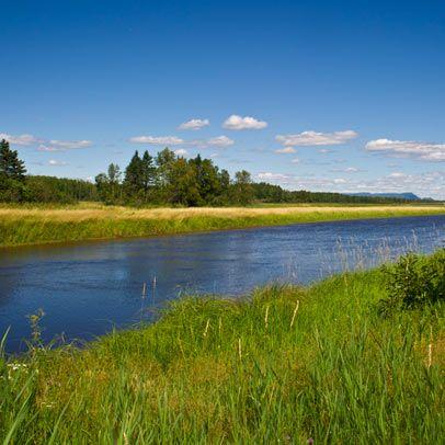 Restigouche River, New Brunswick, Canada