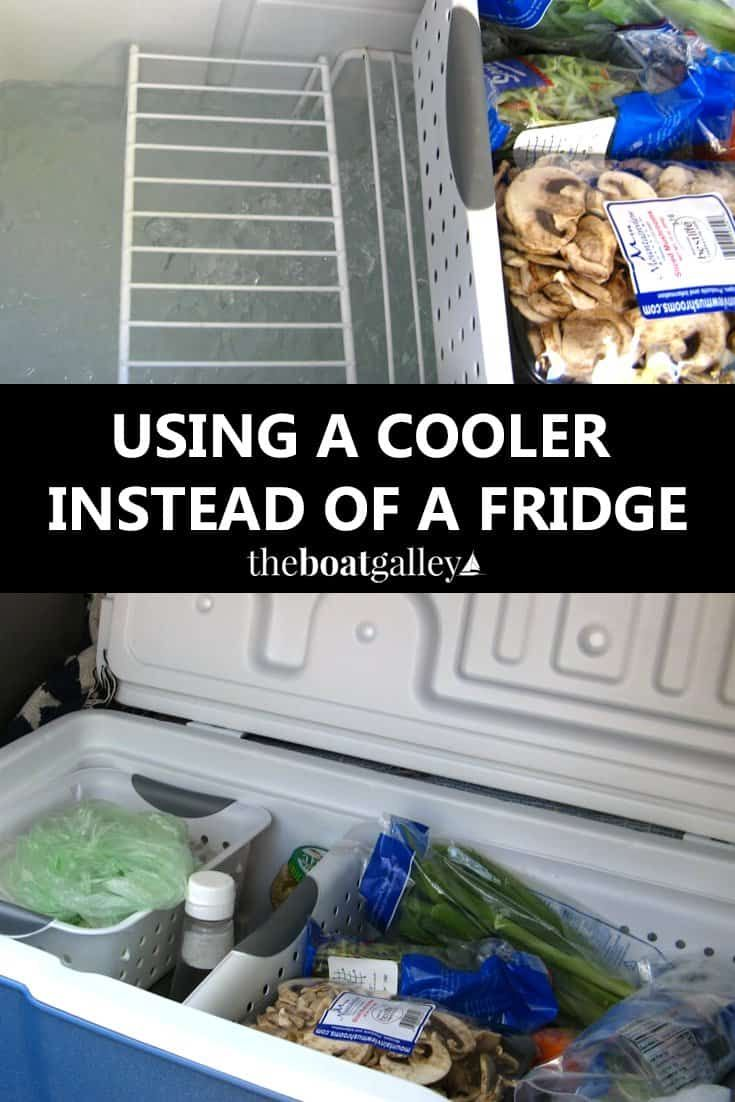 How to Use an Ice Box Cooler for Food Storage   Camping ...