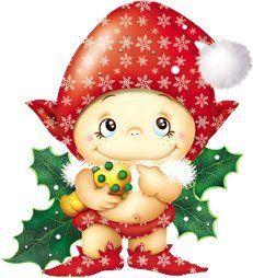 Gifs navideños: Duendes navideños