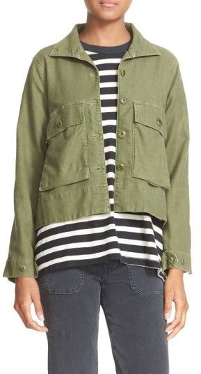 The Great Women's 'The Swingy Army' Jacket