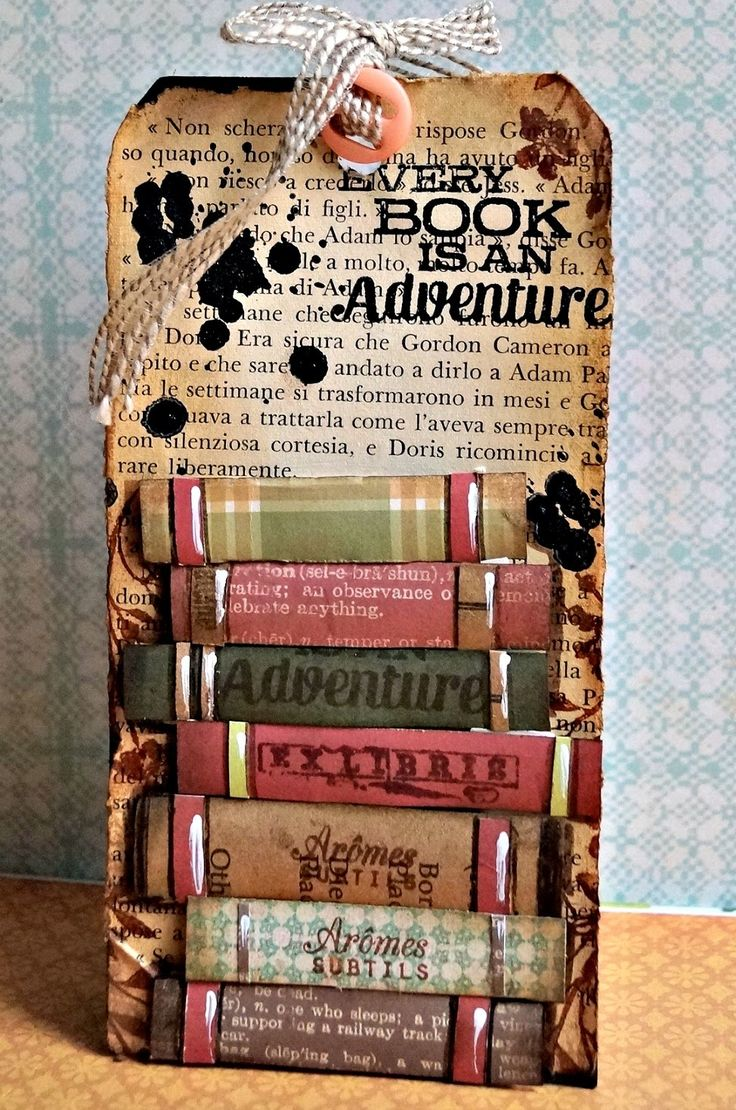 MY 12 MONTHS OF CARDS: Book TAG inspired By Vicky (Clips-n-cuts)