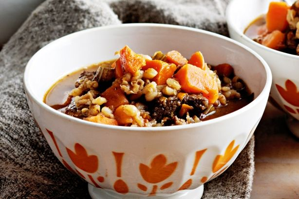 All-in-one beef soup