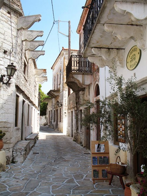 The charming town of Halki inNaxos, Greece (Source: elladaa, via lostinthewoodswithyou)