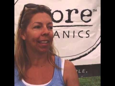 Wendy loves Yoreganics balm for healing her sun blister on her lip naturally