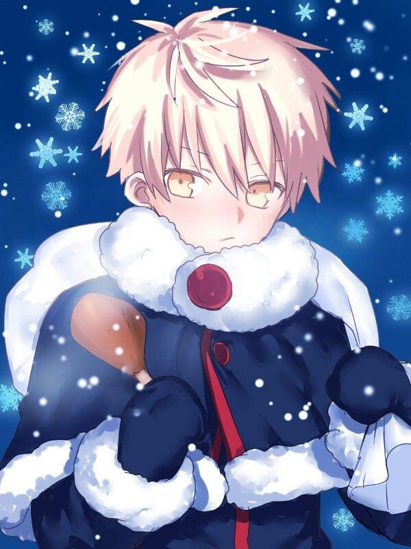 Santa Alter Arthur Anime Anime Christmas Anime Elf