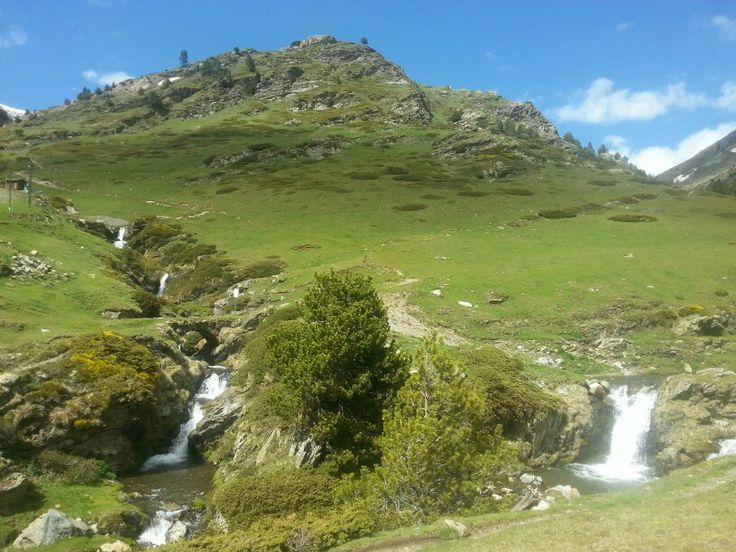 Torrent d'Eina a Vall de Núria