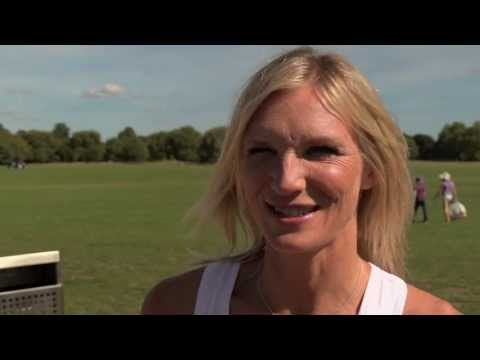 Jo Wiley Training for the Bupa Great North Run - YouTube