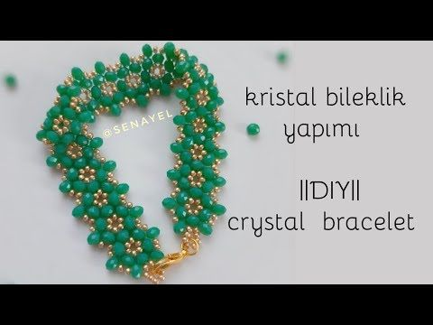 Stylish Crystal Bracelet Making || #DIY || Crystal Bracelet – YouTube