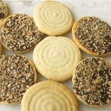 The ultra-tender, extra-crunchy texture of these cookies is unlike anything you can get using baking powder or baking soda. The secret? Baker's ammonia, a.k.a. ammonium carbonate; possibly available … More »  Vanilla Dreams
