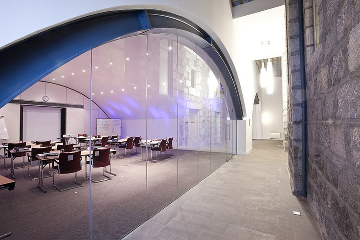 Skene House Conference Suites in Aberdeen offer 3 meeting rooms, 2 of which are contained within the original arches and another which can be split into 2 - ideal as a private break-out area.