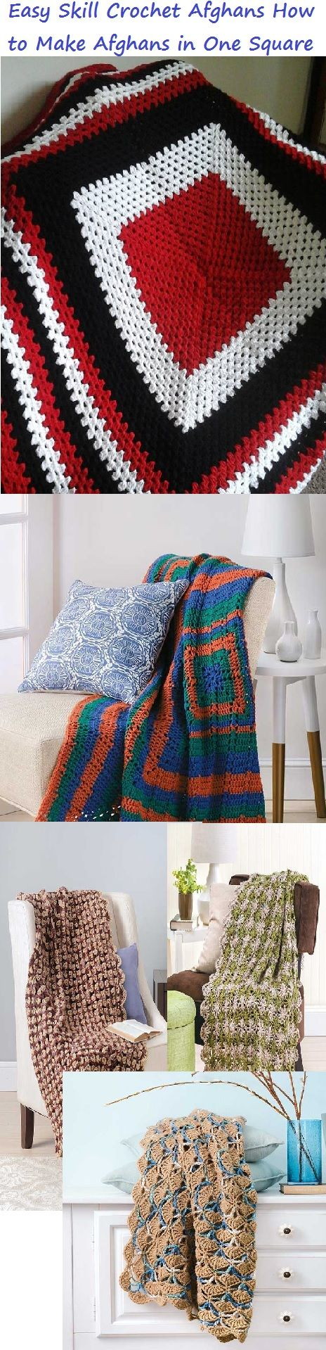 Best 25 crochet afghans ideas on pinterest crochet blanket easy to crochet one square afghan patterns granny squares bankloansurffo Gallery