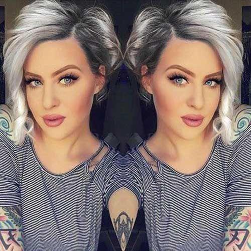 Schicke Ideen für kurze Haare für runde Gesichter