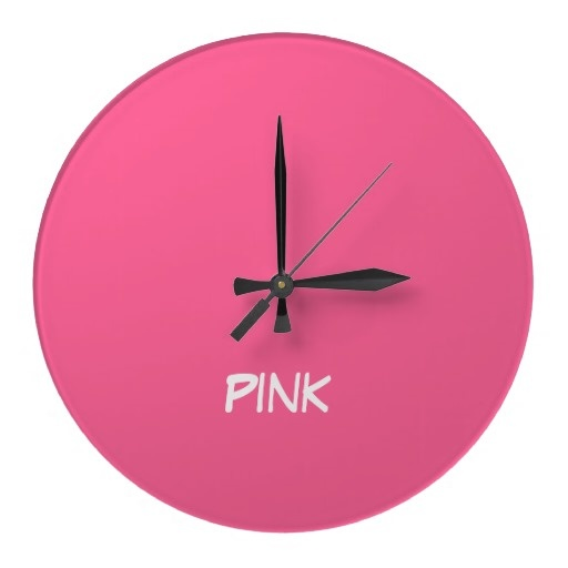 pink o'clock-my style time.