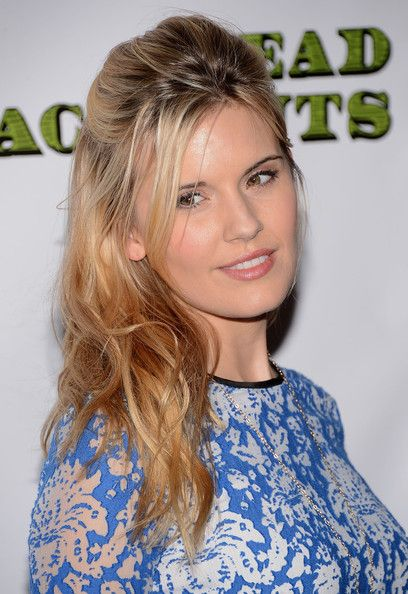 Maggie Grace Hair. Love her natural makeup look too!