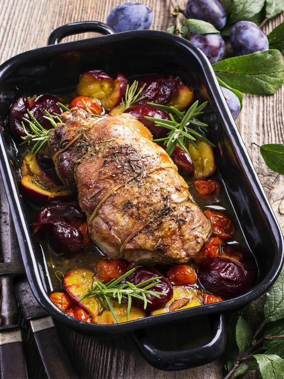 Here's a  great way to keep your chicken moist while cooking it in the oven.  You should remove the chiken from the oven 15 minutes prior to serving it.  This will give the chicken time to rest and soak up all the juices, this will make it easier to cut and believe me it will be juicy and tender!!