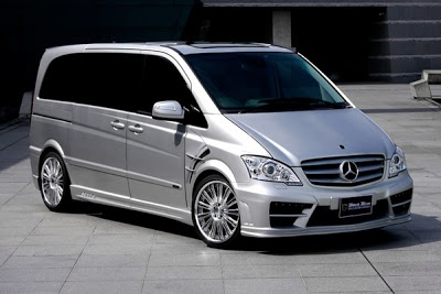 Mercedes-Benz Viano (Sold in Europe). Too Bad. Cool Mini-Van.