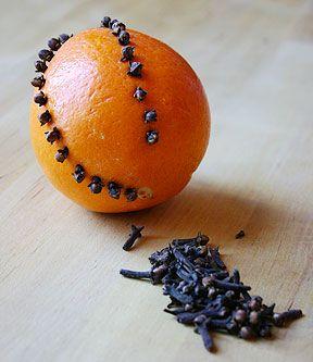 Recette de fête : les oranges de Noël