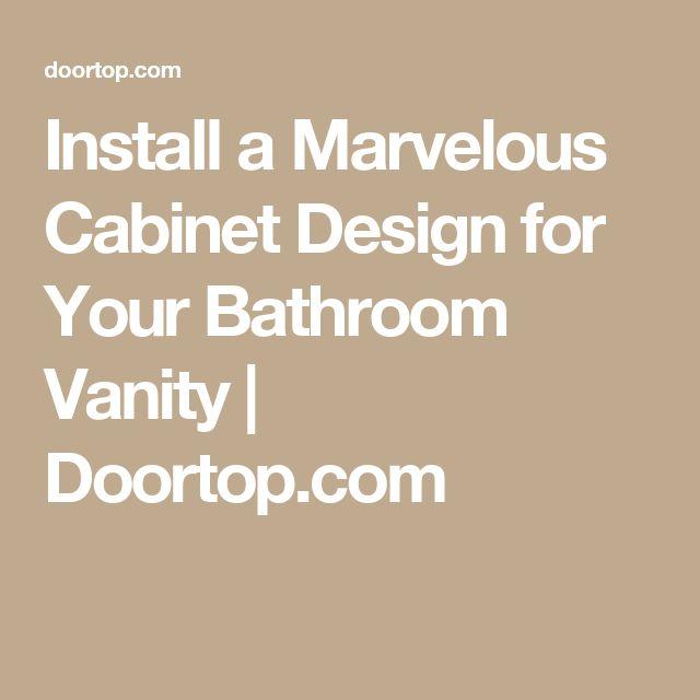25 Best Bathroom Vanities Images On Pinterest Bathrooms