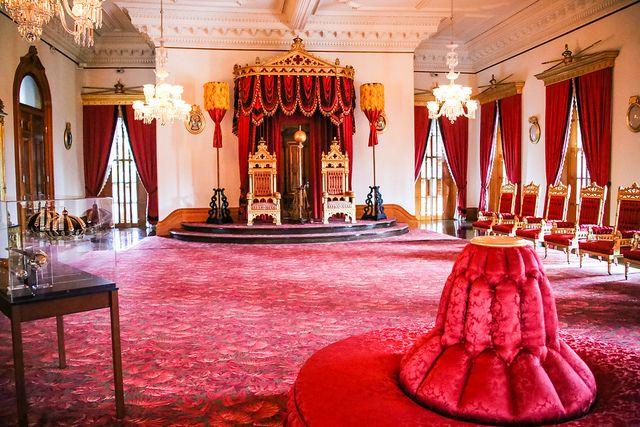 Pics For Gt Iolani Palace Interior Palace Interior Interior Hawaiian Style