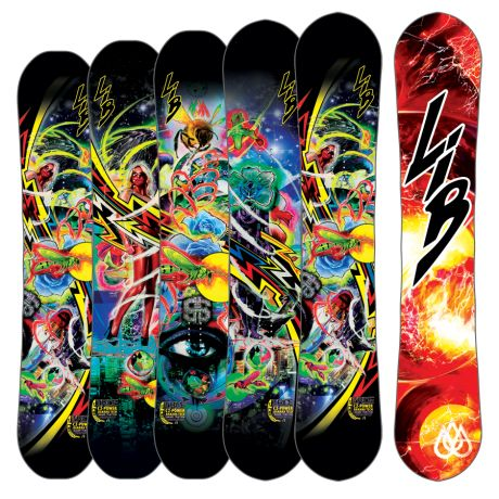 Travis Rice Pro – Lib Tech - sick art work, great for that buttery goodness