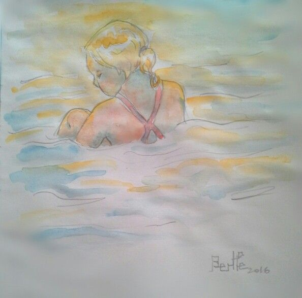 Little Mermaid - Summer sketches