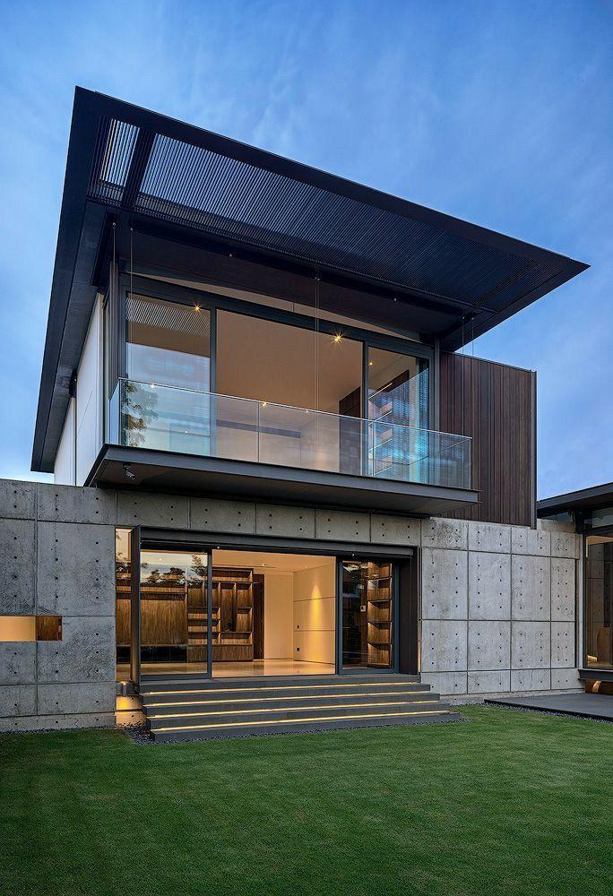 خدمات تصميم واجهات معمارية Modern Residential Architecture New Model House Residential Architecture