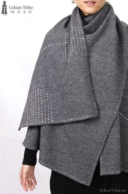 城市山民 http://www.urbantribe.cn/English/Xi/Single/?Id=62 idea for some of my boiled wool.