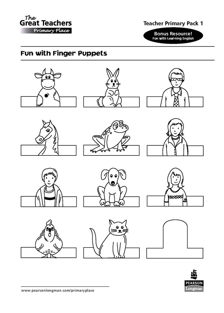 Animal finger puppet templates google search ka t for Paper finger puppets templates