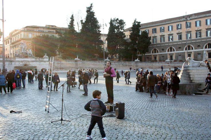 ローマ ポポロ広場