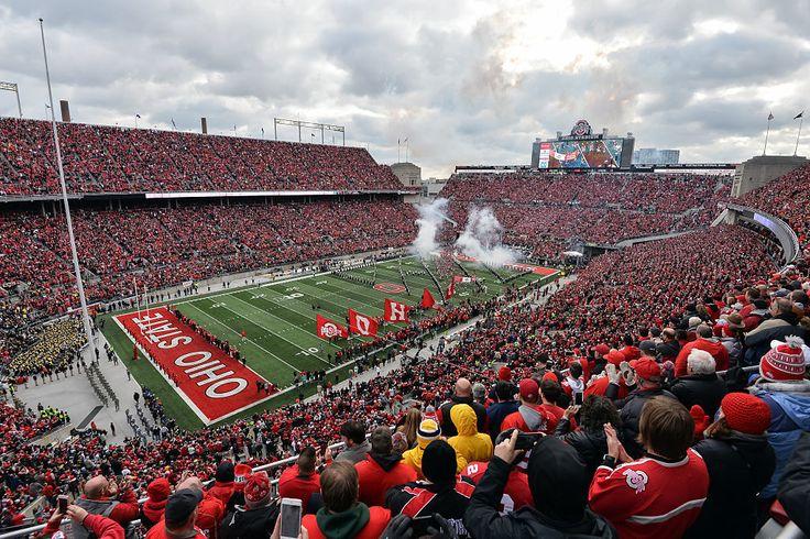 Ohio Stadium, Columbus, Ohio Seating: 104,944