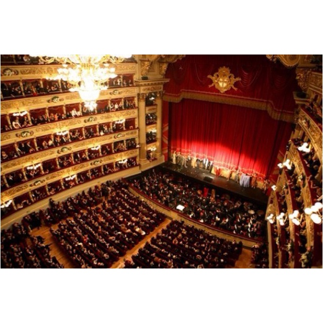 La Scala-Milan- one of the most amazing places I've ever been.