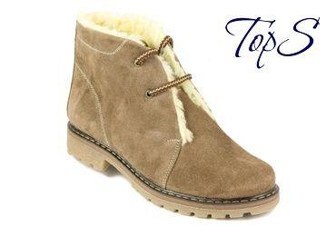 Зимние женские ботинки TopS 1-265A1-SKZ