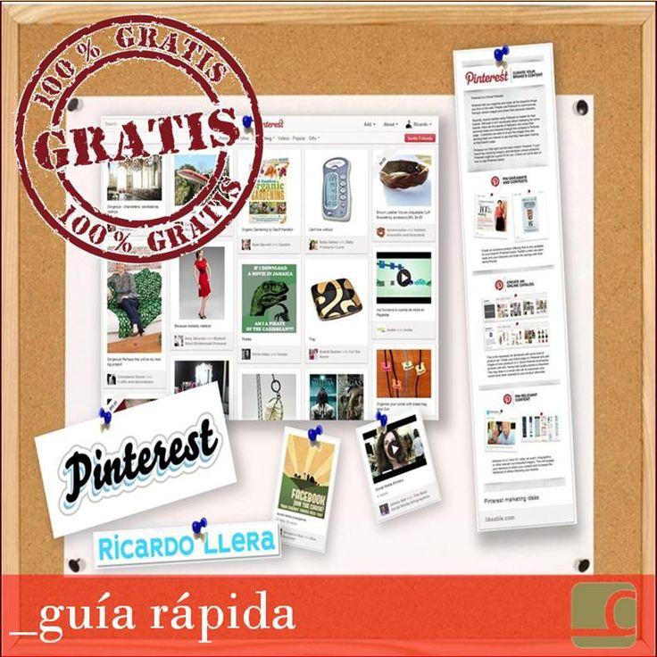 Guía Rápida De Pinterest En Español ¿No La Tienes? Descárgatela Aquí Gratis by @ricardollera