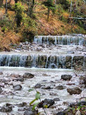 Wasserfall Maisweg Bayerisch Gmain