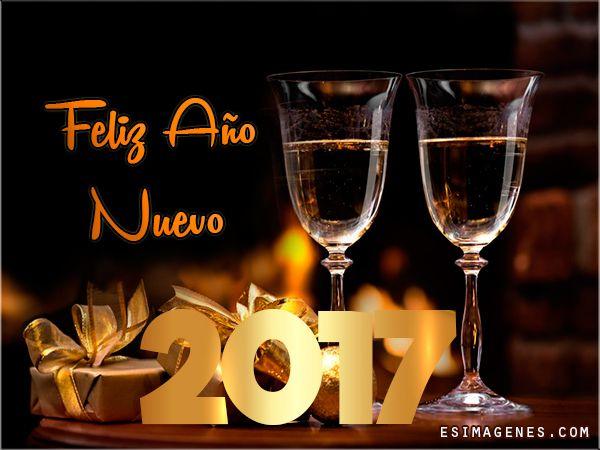 Imágenes, Postales y Tarjetas para Año Nuevo 2017 - Imágenes Tarjetas Postales con Nombres | Feliz Cumpleaños