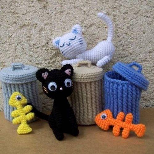 Örgü Oyuncaklar - Sokak Kedileri