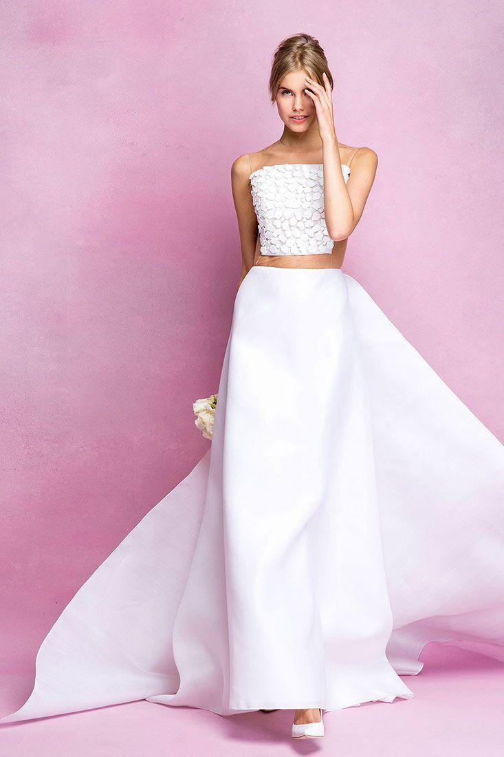 Mejores 188 imágenes de Vestido Novia en Pinterest | Ideas para boda ...