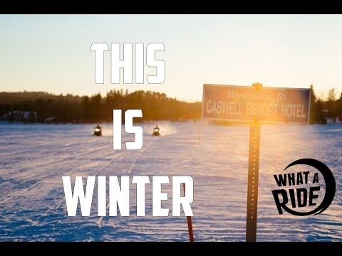 Best Snowmobile video we ever produced. A MUST watch! This is Winter - Snowmobiling in Ontario, Canada #ontariosnowtrails