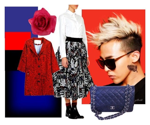 """""""Red & Blue Addiction"""" by alteregodress on Polyvore featuring Chanel and Accessorize"""