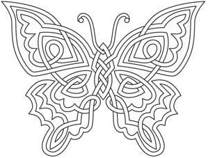 Celtic Butterfly | www.pixshark.com - Images Galleries ...