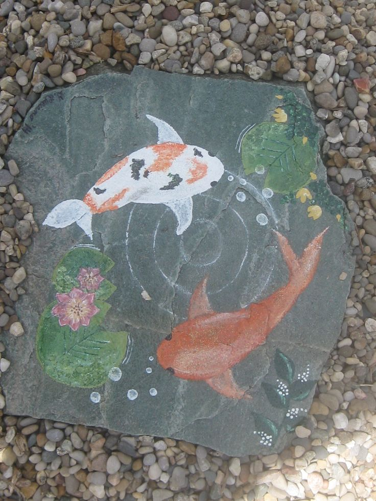 17 best images about i made it on pinterest diy jewelry for Fish pond rocks