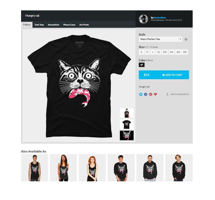 https://www.designbyhumans.com/shop/t-shirt/men/hungry-cat/65894/