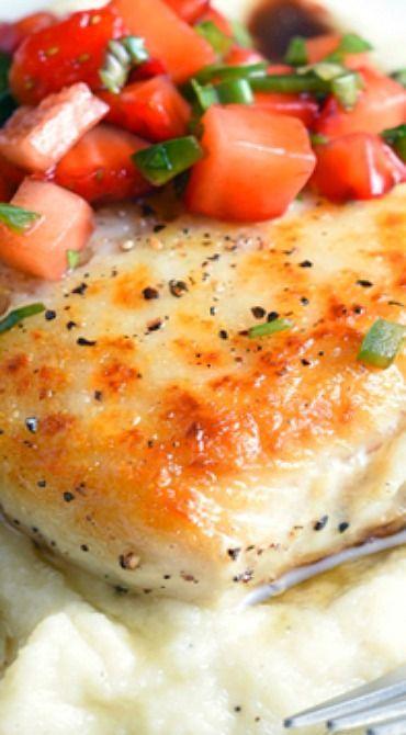 cod with strawberry salsa cod with strawberry salsa recipes dishmaps ...