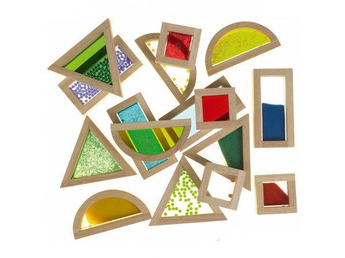 Sensory Blocks - smyslové kostky 16ks