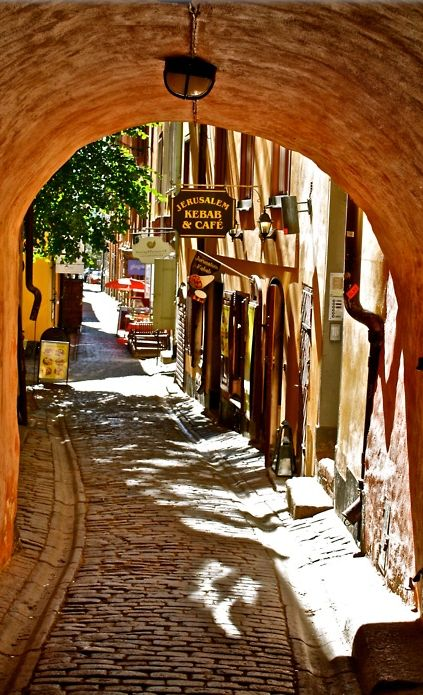 Jerusalem Kebab & Café in the Gamla Stan (Old Town) of Stockholm, Sweden • photo: Jerusalem Kebab & Café on Facebook