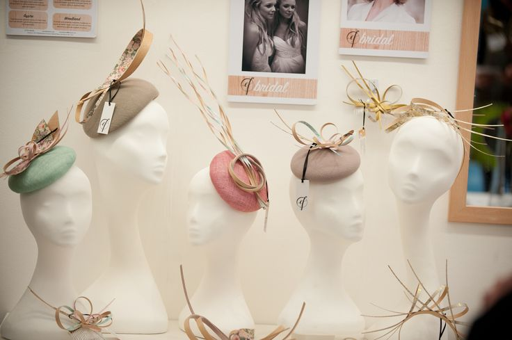 "Emma Fozard Millinery Spring Summer ""Pastel"" collection at HatStock 2017"