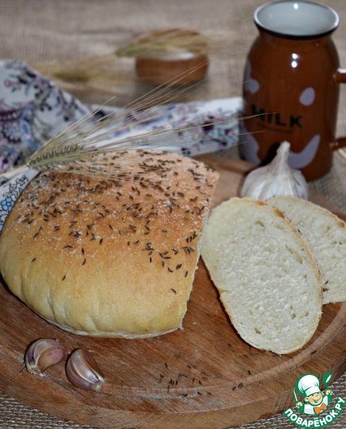 Домашний чесночный хлеб - кулинарный рецепт